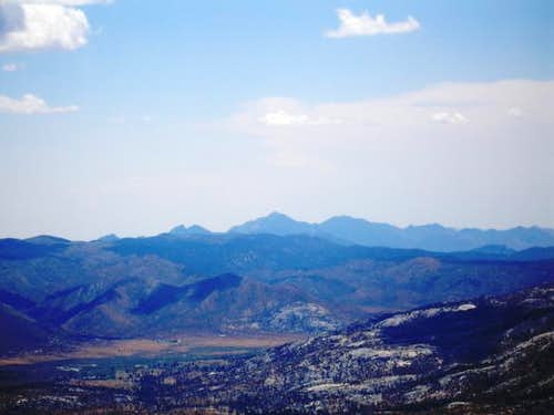 Owens Peak as seen from Bald Mountain