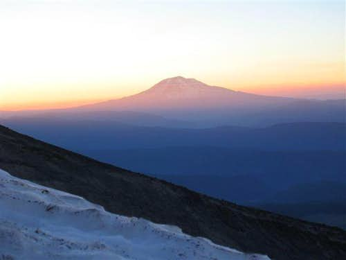 Mt Adams Sunrise from St Helens