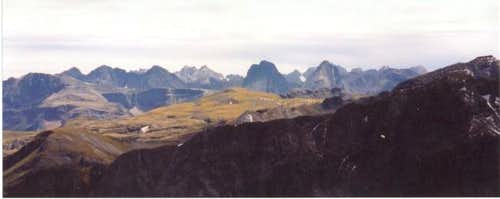 A View of the Grenadier Range...