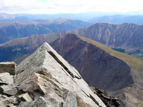 Looking toward Kelso Mountain
