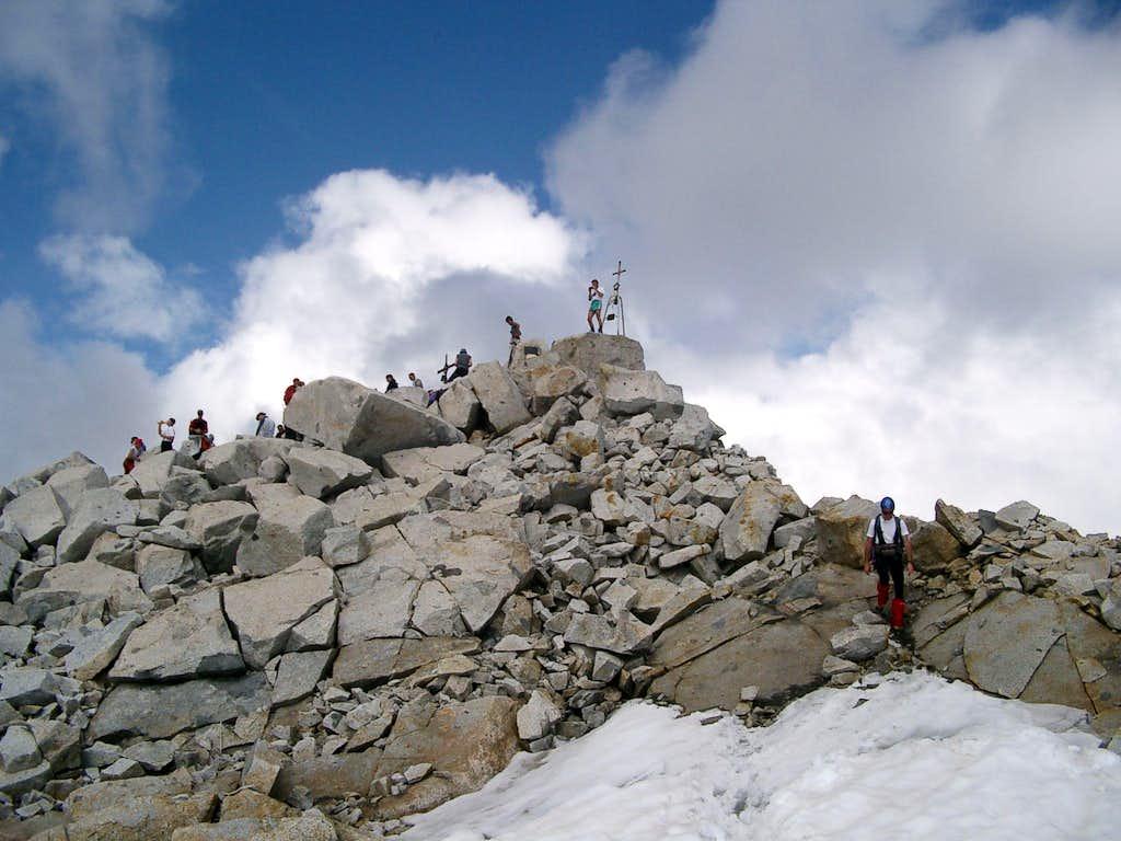 The summit of Adamello
