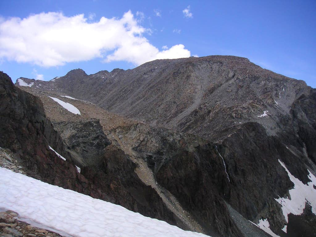 Mount Wood from South East Ridge