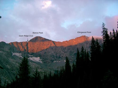 Blanca Peak, Huerfano County Highpoint & Ellingwood Point