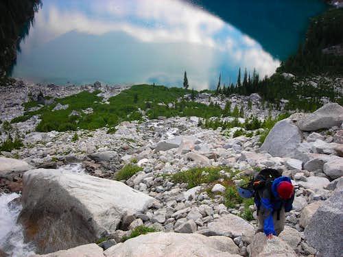 Approach To Backbone Ridge