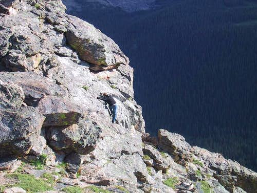 Bouldering/climbing