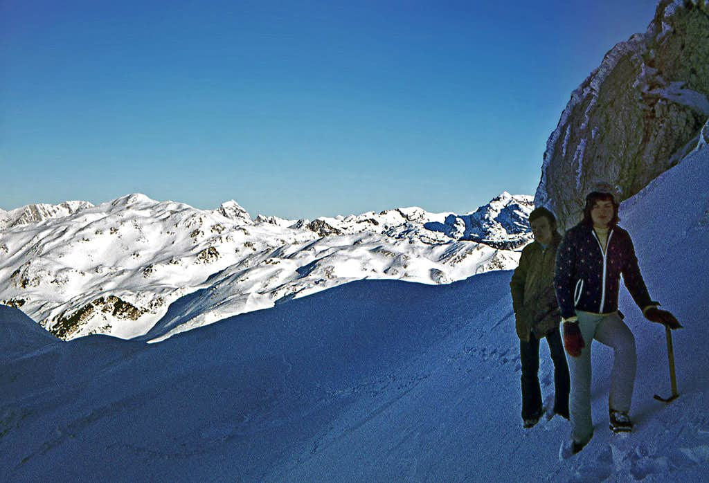 A winter ascent on Bogatin