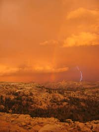 Thunderstorm over Northern Yosemite