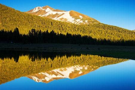 Mt. Gibbs Afternoon Tarn Reflection