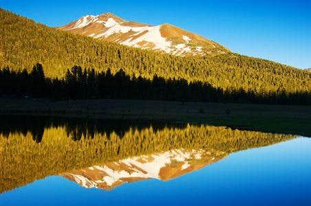 Mt. Gibbs Afternoon Tarn Reflection