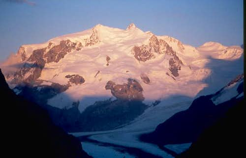Monte Rosa in the evening.......
