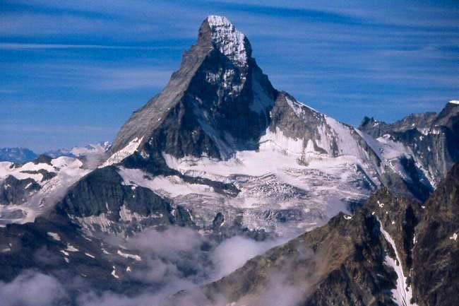 Matterhorn with Hörnligrat,...