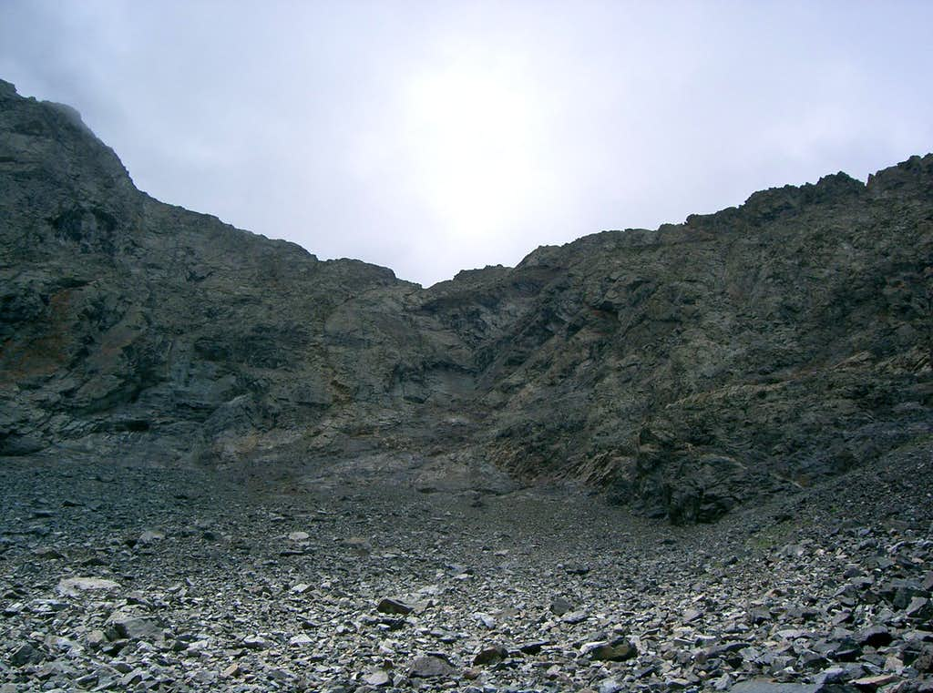 Ellingwood Peak's North Ridge