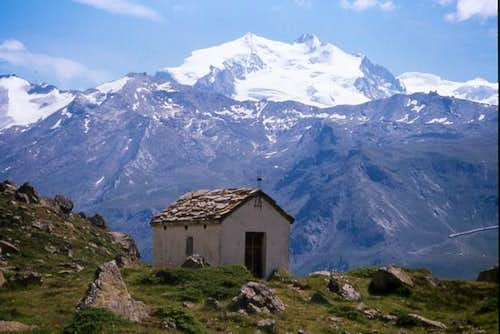 Monte Rosa massive seen from...