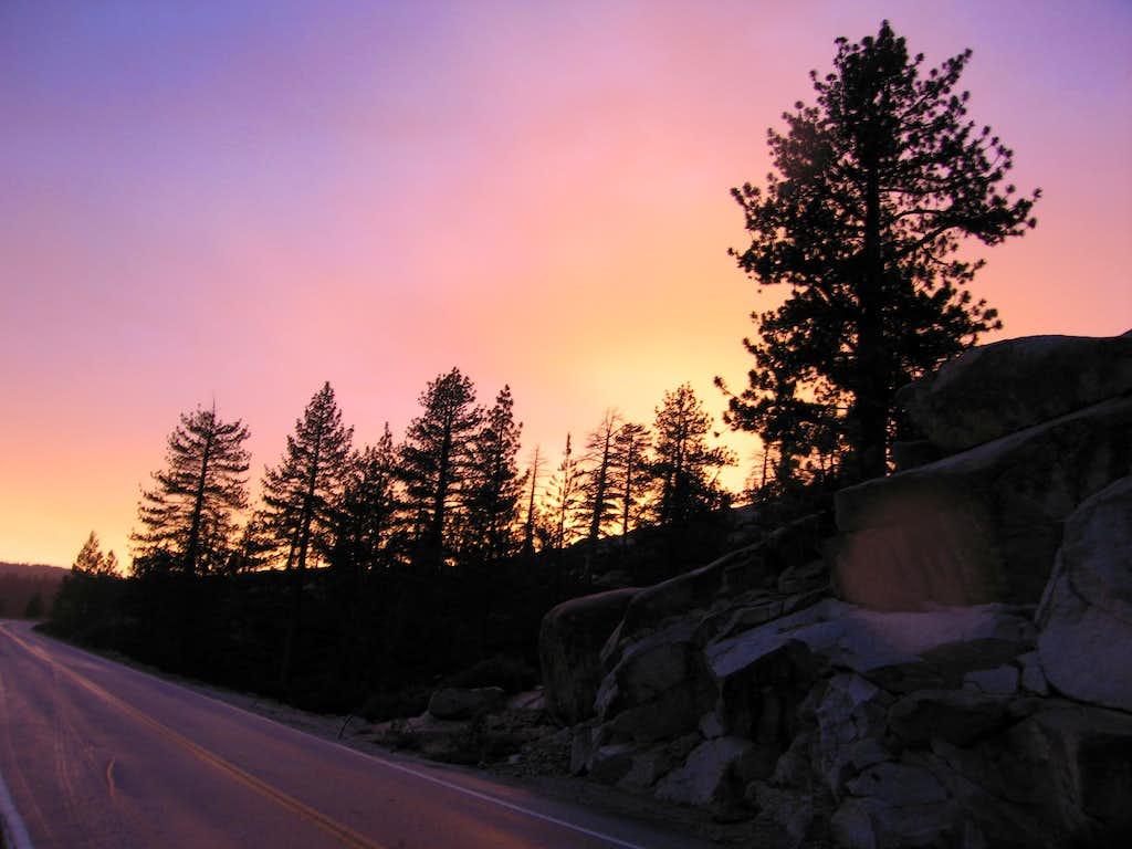 Tuolumne Sunset #1