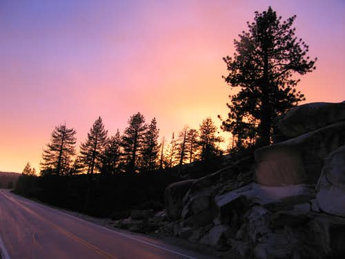 Tuolumne Sunset #1
