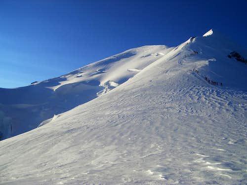 Mont Blanc  (4808m)