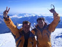 Mont Blanc summit  (4808m)