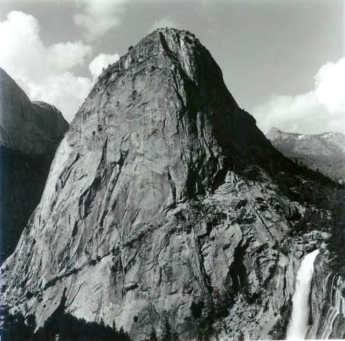 Liberty Cap and Nevada Falls....