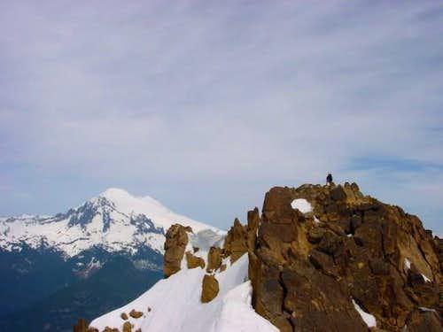 Scot'teryx on the summit of...