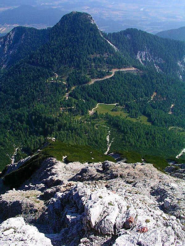 Kepa/Mittagskogel - on the NE ridge