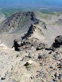 ne ridge of  north sister