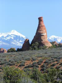 La Sal's from Arches National Park