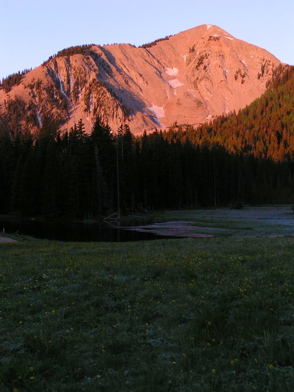 South Peak of the La Sal Mountains