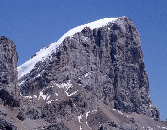 Marmolada seen from west...