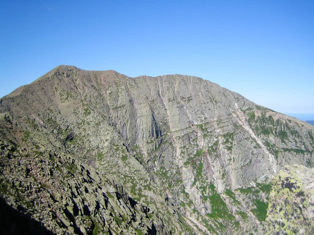 South Peak and Baxter Peak