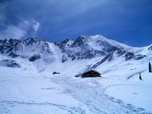Drift Peak in Winter