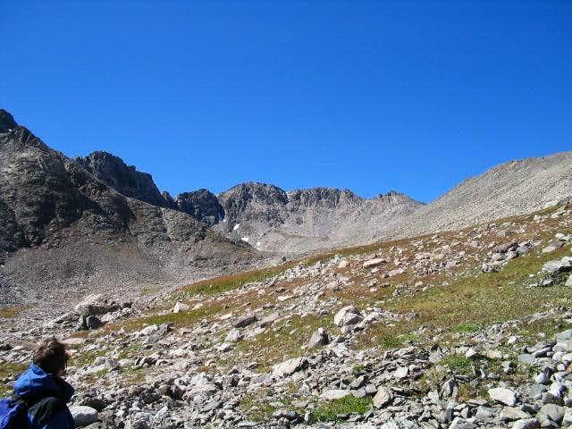 Admiring Drift Peak