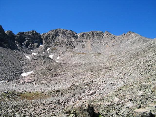 Southeast Face of Drift Peak