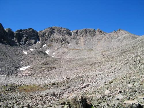 Southeast Face of Drift Peak