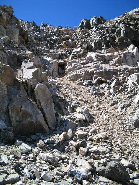 Southeast Gully on Drift