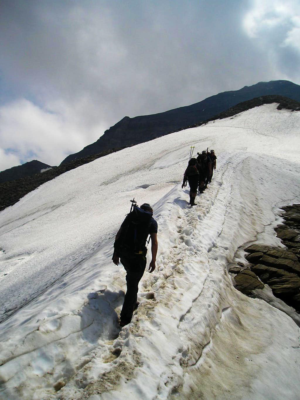 summit in backround