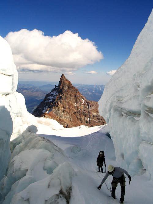 Exploring Ingraham glacier