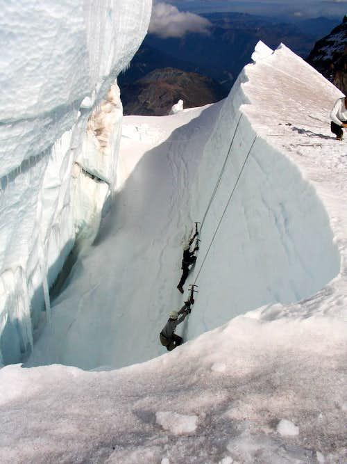 Glacier climbing 1