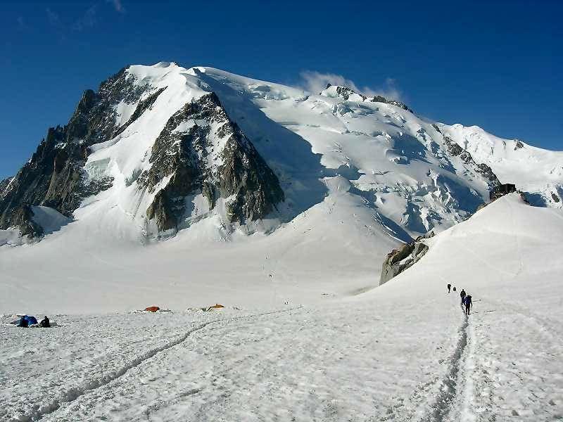 Mont Blanc du Tacul ...