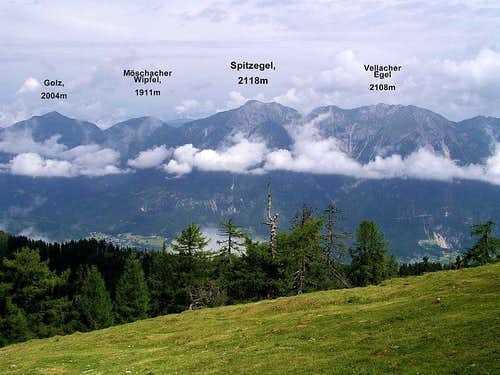 Spitzegel ridge