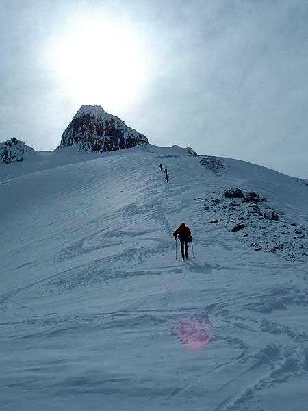 Upper Ridge from Sitkum Spire...