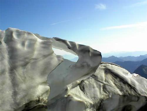 Glacial terminus, photus...