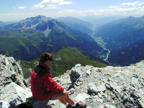 Mosermandl summit view
