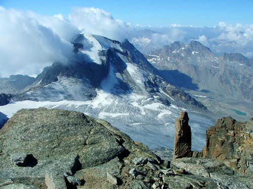 Ciarforon from Gran Paradiso