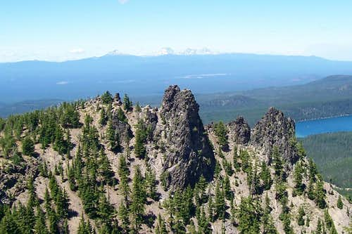 North summit/paulina peak