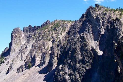 North rim/Paulina peak