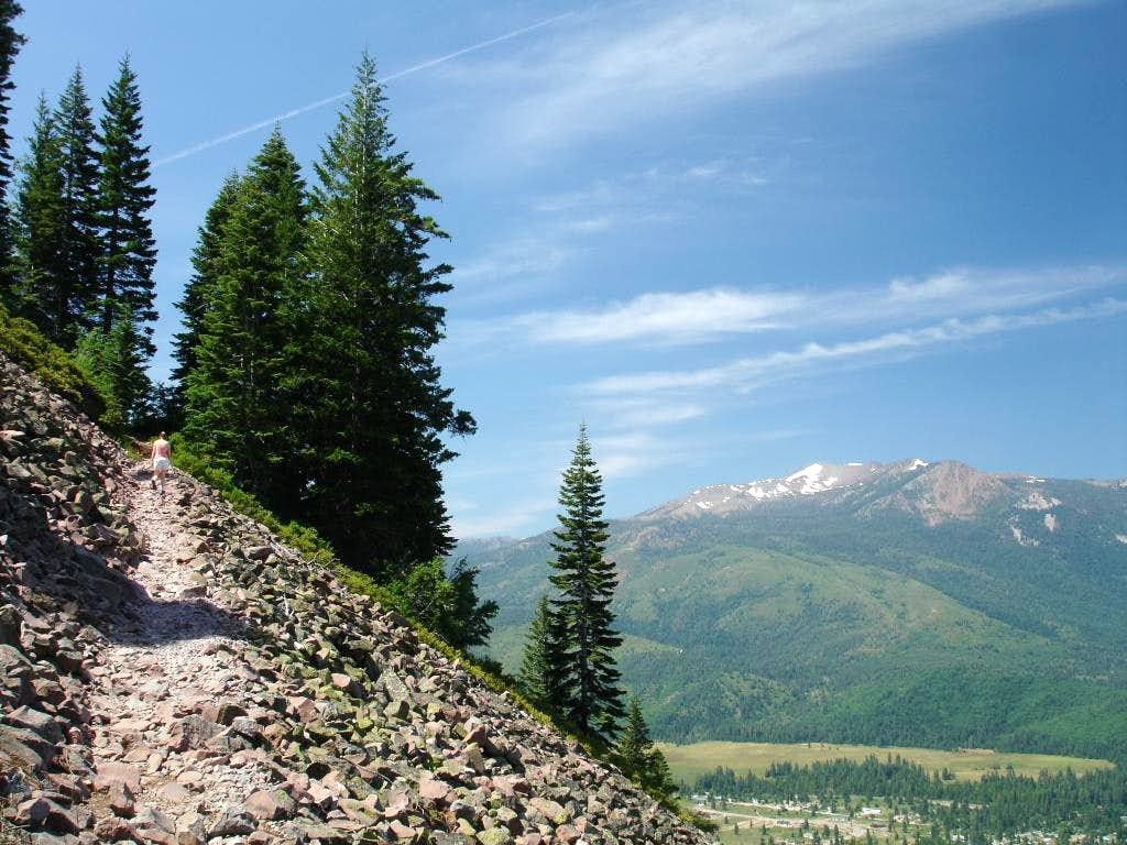 Mount Eddy from the trail