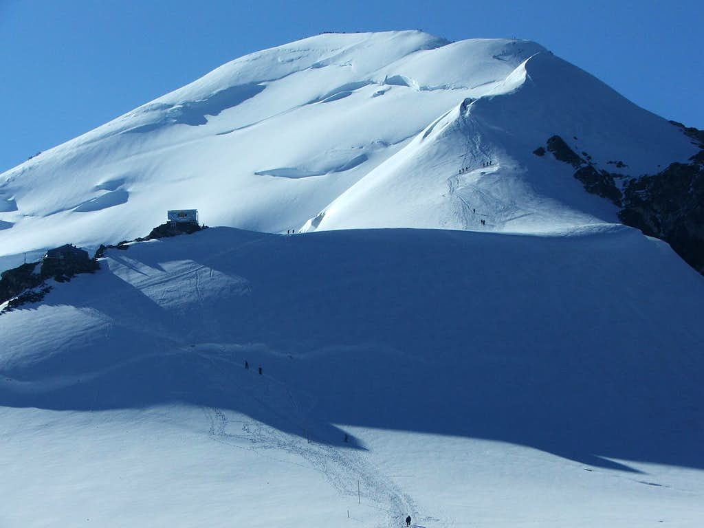 Mont Blanc, Gouter route