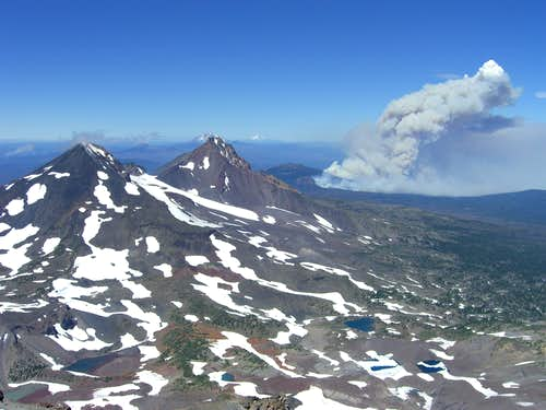 Black Crater Fire