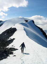 Ridge to Sarektjåkkå