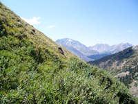 Ascending Casco Peak